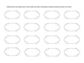 Polka Dot Behavior Management Clip Chart