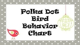 Polka Dot Bird Behavior Chart