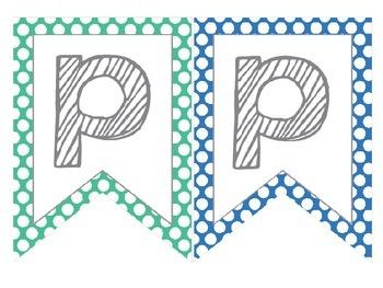 Polka Dot Birthday Banner