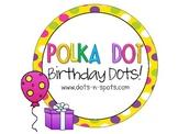 Polka Dot Birthday Dots