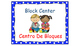 Polka Dot (Blue) Bilingual Learning Centers Signs