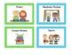 Polka Dot Book Basket Labels