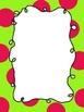 Polka Dot Border Curly Frames - Set 2
