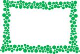 Polka Dot Border - Green