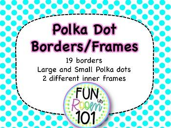 Polka Dot Border Pack