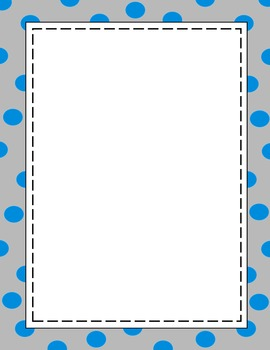 Polka Dot Borders