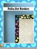 FREE Polka Dot Bulletin Board Borders