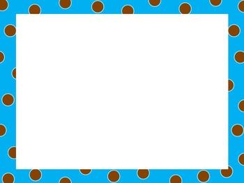 Polka Dot Borders-Complete Set