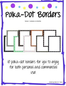 Polka Dot Borders