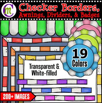 Checker Borders and MORE