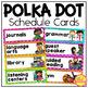 Classroom Decor Bundle in Polka Dot Brights