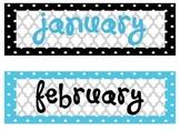 Polka Dot Calendar