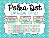 Polka Dot Calendar Cards