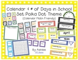 Polka Dot Calendar & Number of Day Pack
