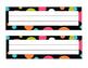 Polka Dot Calendar Numbers and Nameplates Bundle