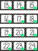 Polka Dot Calendar Numbers for July