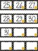 Polka Dot Calendar Numbers for June