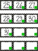 Polka Dot Calendar Numbers for March