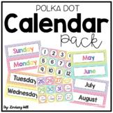 Polka Dot Calendar Pack