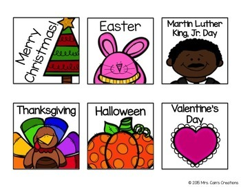 Polka Dot Classroom Calendar Pack