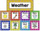 Polka Dot Calendar Set (Primary Polka Dots)