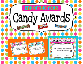 Colorful Dot Candy Awards