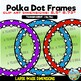 Transparent Polka Dot Circle Frames for Commercial Use
