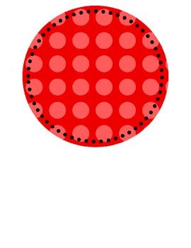 Polka Dot Circle Graphics