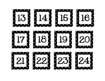 Polka Dot Class Numbers