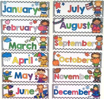 Polka Dot Classroom Decor and Calendar Set