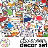 Polka Dot Classroom Decor