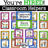 Classroom Helpers: You're HIRED!