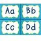 Polka Dot Classroom Labels (Blue/Yellow)