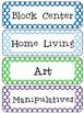 Polka Dot Classroom Labels [includes editable blanks]