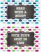 Polka Dot Classroom Reward Coupons