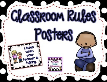 Polka Dot Classroom Rules