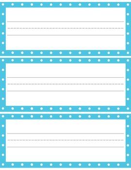 Polka Dot Classroom Set