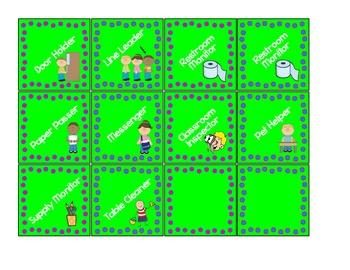 Polka Dot Classroom Signs