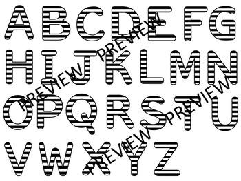 Polka Dot Clip Art Letters | Jailbird