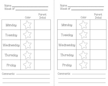Polka Dot Clip Chart {PDF and Editable Versions}