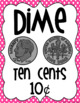 Polka-Dot Coin and Dollar Money Posters