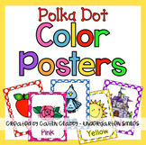 Color Posters Polka Dot