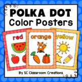 Polka Dot Color Posters (Rainbow Big Dots)-Classroom Decor