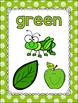 Polka Dot Color Posters (Scribble Dot)-Classroom Decor
