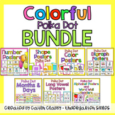 Polka Dot Colorful Decor BUNDLE