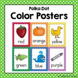 Polka Dot Colors Posters
