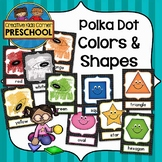 Polka Dot Colors and Shapes Posters