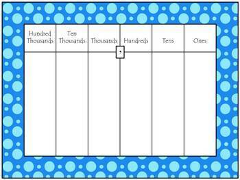 Polka Dot Complete Calendar Bulletin Board Set