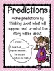 Polka Dot Comprehension Posters {Fiction&non-Fiction} Comm