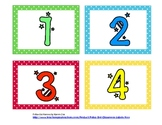 Polka Dot Cooperative Group Numbers